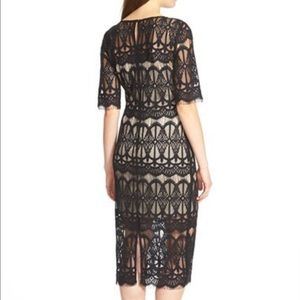 j.o.a Dresses - J.O.A. Lace Body Con Dress