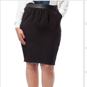 MYNT 1792 Dresses & Skirts - ⛄️🎁New MYNT 1792 Black Pegged Pencil Skirt 14W