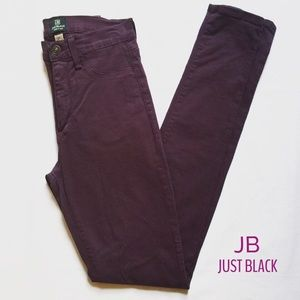 Just Black brand Purple High Waist Skinny Jeans