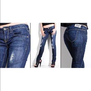 Wildfox Denim - SALE Wildfox Distressed Skinny Biker Jeans Size 24