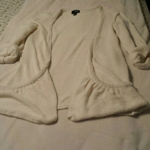 a.n.a. Oversized Pocket Open Cardigan Size Large