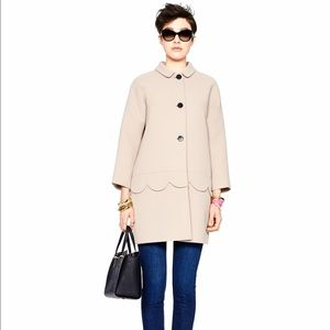 Like new Kate Spade Talia Coat