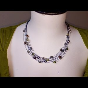 "Honora Jewelry - 18"" FRESH WATER MULTI-STRAND PEARL NECKLACE-HONORA"