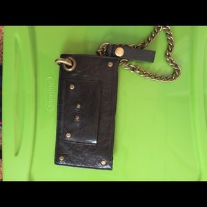 Will Leather Goods Handbags - NWT Will chain wallet leather