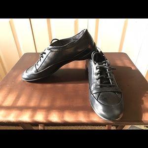 Adidas Shoes - Rockport Adidas Black Leather Shoes