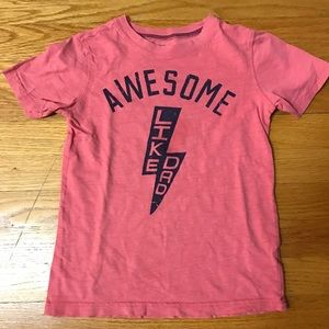 Awesome like dad carter's Tshirt