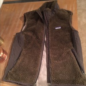 Olive colored Patagonia Vest