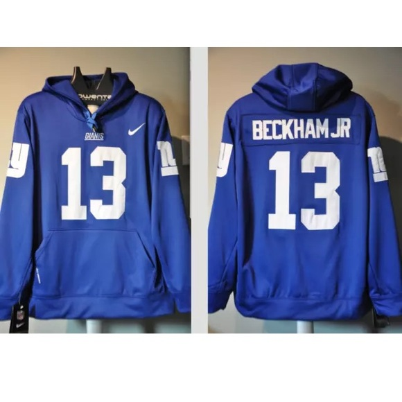 pretty nice 71f3c d94e2 Odell Beckham Jr NY Giants Home jersey Hoodie NWT