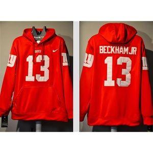 brand new 4f769 c1ed5 Odell Beckham Jr NY Giants Alternate jersey Hoodie NWT