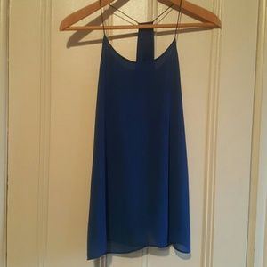 17/21 Exclusive Denim Tops - Sexy Blue Party Top