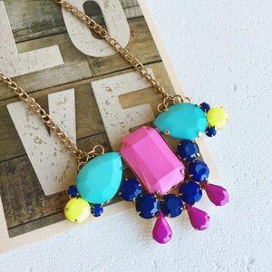 Neon colorful pendant