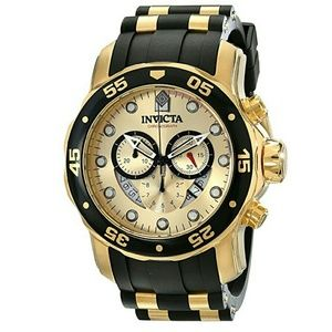 Invicta  Other - NWT Invicta $1,295 (18k Gold) Chronograph watch