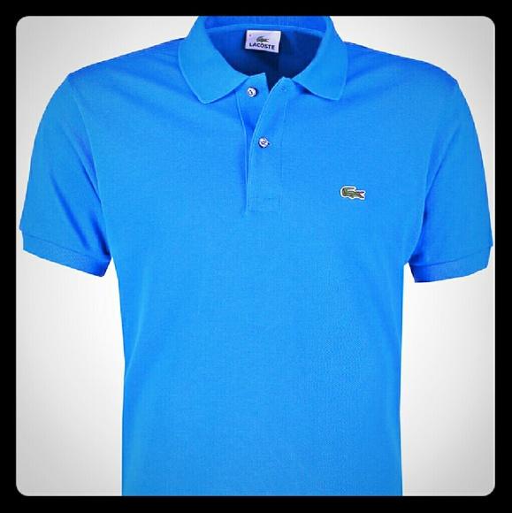6e010cee23f78 Lacoste Other - Vintage chemise lacoste polo sky blue xxl