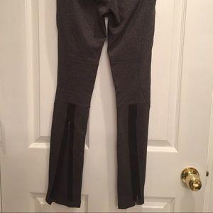 8e341e02f1e08f BCBGMaxAzria Pants - BCBG Grey Moto Style Legging Pants w/ Leg Zippers