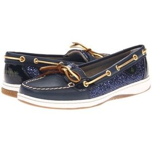 Sperry Top-Sider Shoes - Sperry Top-Sider Blue Sparkle Boat shoes