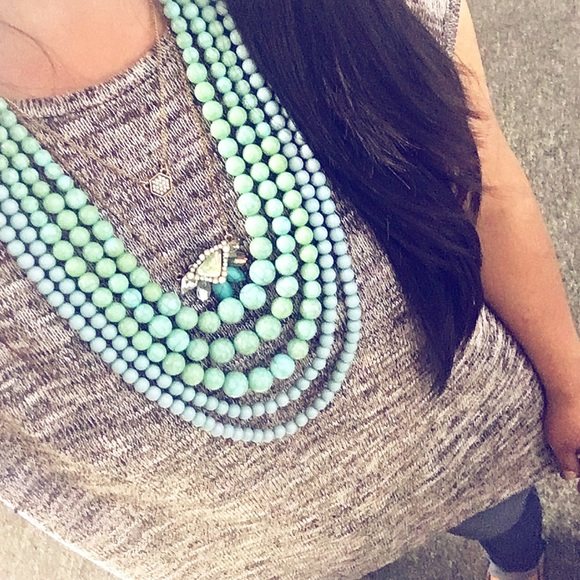 hwl boutique Jewelry - Handmade Turquoise Necklace!