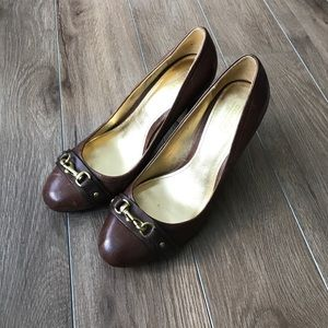 "Coach Shoes - Like new💖Coach Classic leather pumps 3.5"" heels"