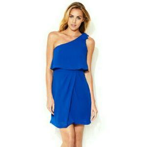 Greylin Dresses & Skirts - Greylin Penelope Royal Blue One Shoulder Dress