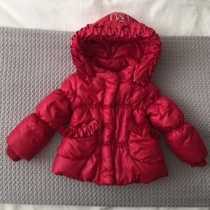 MonnaLisa Other - Luxury brand girls puffer jacket