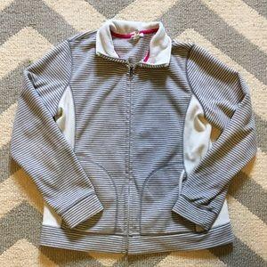Old Navy Jackets & Blazers - Striped fleece jacket