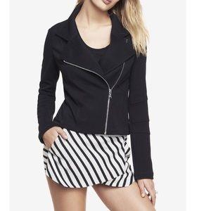 Express Jackets & Blazers - Knit Moto Jacket