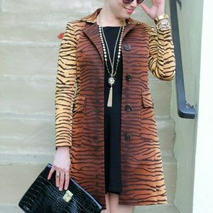 MICHAEL Michael Kors Jackets & Coats - Tiger Print Jacket