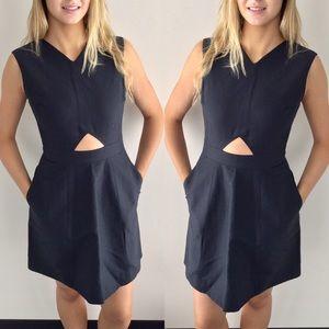 Kate Spade Saturday Black Cut-Out Dress