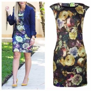 MOVING SALE ❗️Floral Printed Sheath Dress