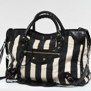 Authentic Balenciaga Damasse City Bag