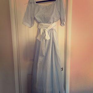 eshakti Dresses & Skirts - Off shoulder Maxi