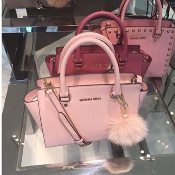 discount up to 60% hot-selling discount top-rated Michael Kors Pink Rose Purse