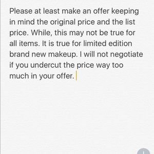 Offer Rules