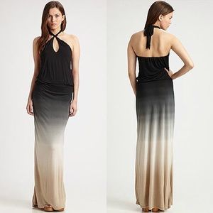 Young Fabulous & Broke Dresses & Skirts - Young, Fabulous, and Broke ombré keyhole Maxi
