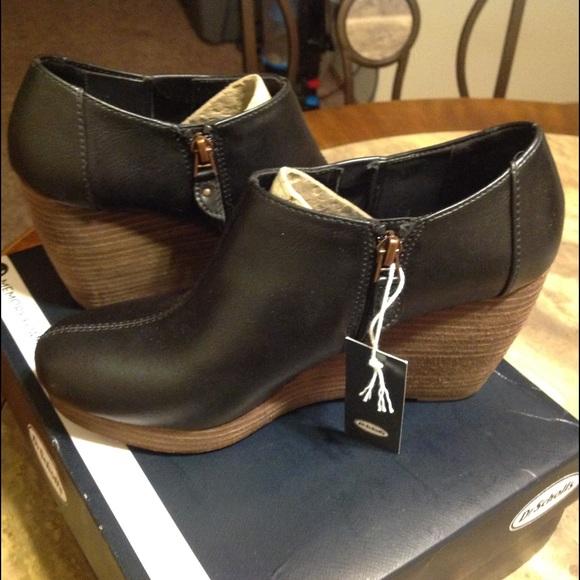 38e1bbc3440 Dr. Scholl s Harlie Shoes Vegan Leather Wedge Heel