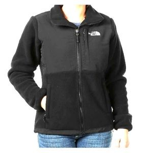 North face black ladies Denali jacket.