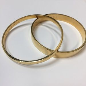 Heart of Gold Bangle Bracelet