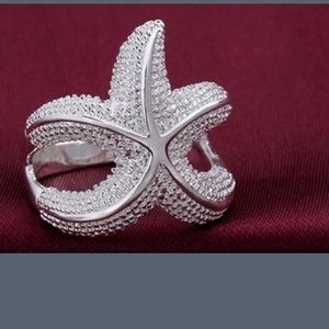 Jewelry - New 925 star fish ring size 8