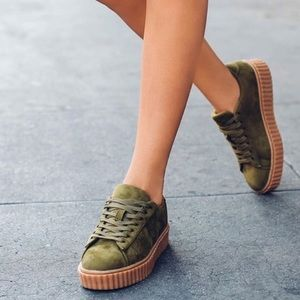 Shoes - Puma inspired creepers