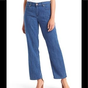 GAP Denim - GAP Original 1969 Cropped Wide Leg Denim Pants