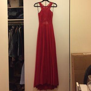 ABS Allen Schwartz Dresses & Skirts - ABS Beautiful Red Dress