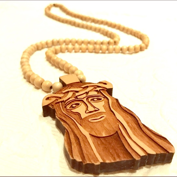 Wooden Jesus Piece