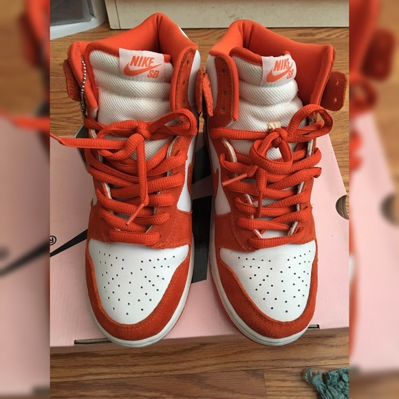 pretty nice 340ca cbcec ... promo code for nike dunk high sb syracuse size 8.