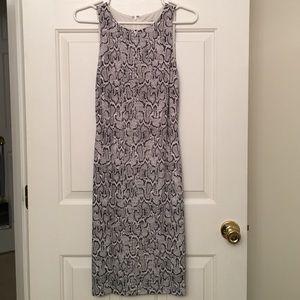 Cache snake print dress