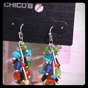 Chico's Jewelry - NWT Chico's Synara Cluster Earrings