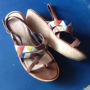 Camper Shoes - CAMPER TWS twins strappy leather & suede wedge