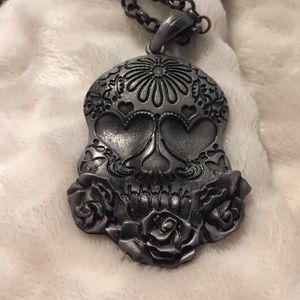 Body Rage Sugar Skill Metal Necklace
