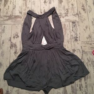 LF Other - LF FOREST GREEN ROMPER