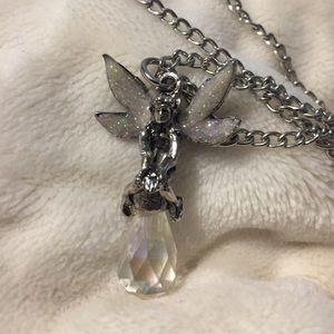 Body Rage Teardrop Fairy Necklace