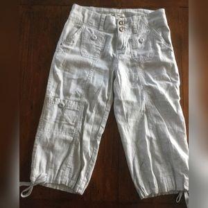 Anthropologie Pants - Hei Hei Anthropology Cargo Capri Pants