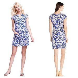 Maternal America Dresses & Skirts - Blue Daisy Maternity Shift Dress